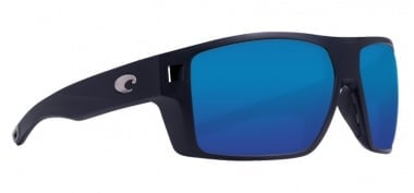 Costa Diego Matte Black Blue Mirror 580P Очила