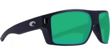 Costa Diego Matte Black Green Mirror 580P Очила