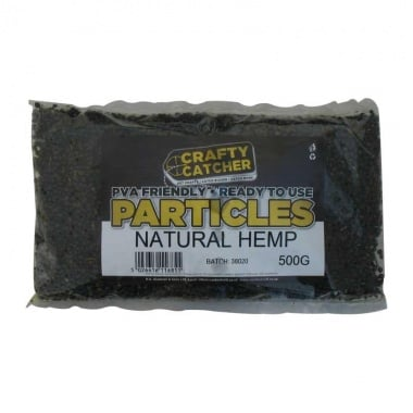 Crafty Catcher CCP Particles Natural Hemp Суха захранка