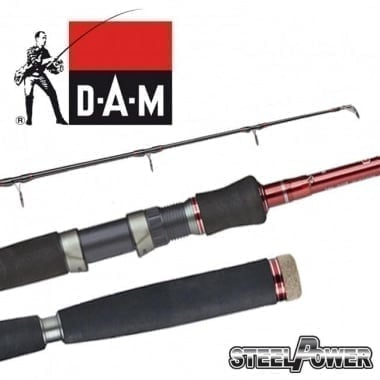DAM STEELPOWER® RED G2 SHAD & PILK Въдица