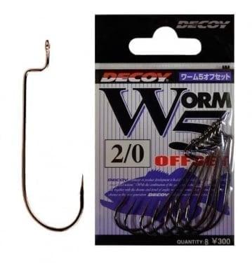 Decoy Worm 5 Единична кука