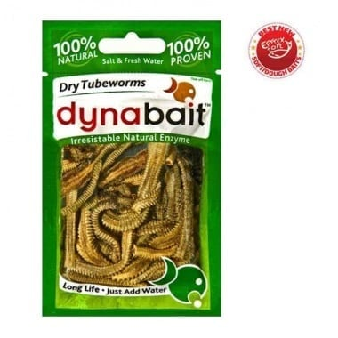 Dynabait Freeze Dried Tube worms