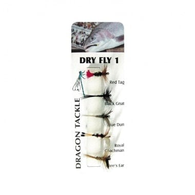 Dry Fly 1 Мухи комплект