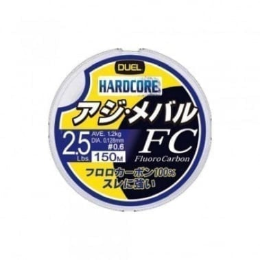 DUEL Hardcore FC 150m Флуорокарбон