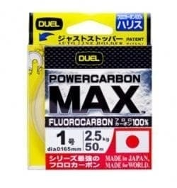 DUEL POWERCARBON MAX 50m Флуорокарбон