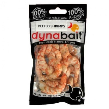 Dynabait Freeze Dried Shrimp peeled Естествена примамка