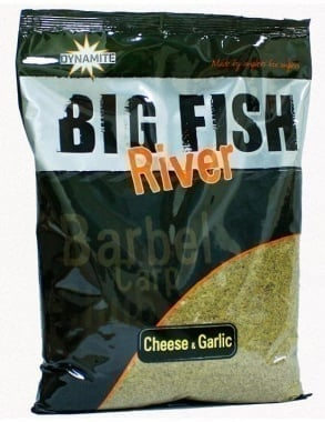 Dynamite Baits Fish River Cheese & Garlic Подхранка