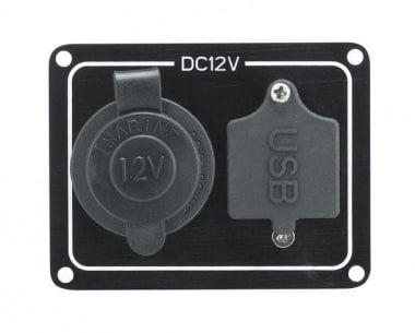 Ел. панел USB и запалка