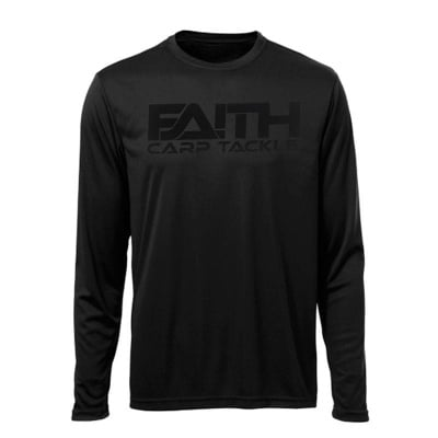 Faith Long Sleeve Shirt Black Блуза