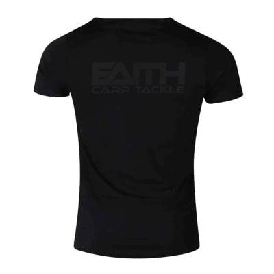 Faith T-Shirt black Тениска черна