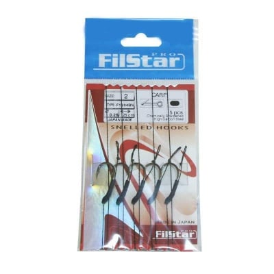 FilStar F1204BN Вързани куки - косъм