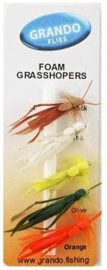 Foam Grasshoppers Мухи комплект