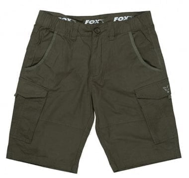 Fox Collection Green & Silver Combat Shorts Къси панталони