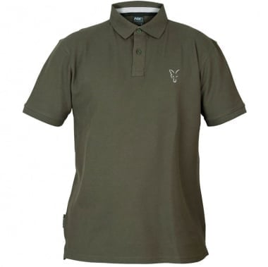 Fox Collection Green Silver Polo Shirt Тениска с яка