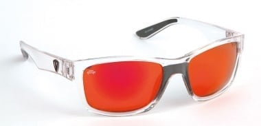 Fox Rage Sunglasses Trans / Mirror Red Lens Очила