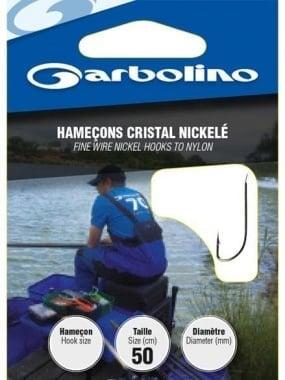 GARBOLINO Nickel 50mm Единични Куки
