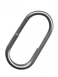Sunset Oval Split Ring Халки овални