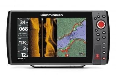 Humminbird Helix 10 SI GPS Сонар