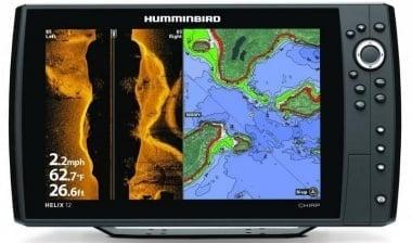 Humminbird Helix 12 Chirp SI GPS Сонар