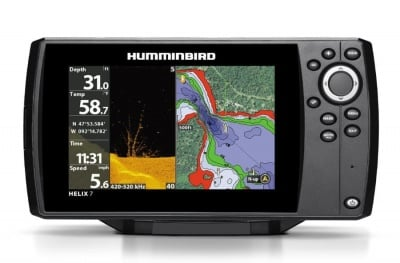 Humminbird Helix 7 Chirp DI GPS G2 Сонар
