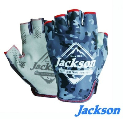 Jackson Sun Protect Fishing Gloves Ръкавици