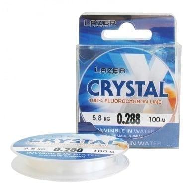 Lazer Crystal X 30m Флуорокарбонов повод