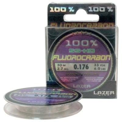 Lazer Fluorocarbon SS-HD 30m Флуорокарбонов повод