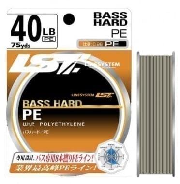 Linesystem BASS HARD PE X8 55m Плетен повод