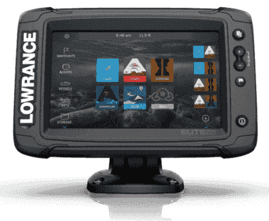 Lowrance Elite-7 TI-2 Combo Сонар GPS без сонда HDI