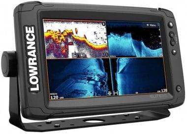 Lowrance Elite-9 TI-2 Combo Сонар/GPS със сонда 3-в-1 и карта