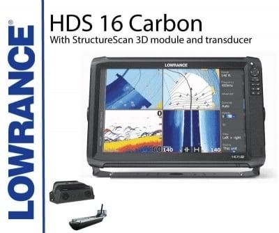 Lowrance HDS 16 Carbon StructureScan 3D Сонар