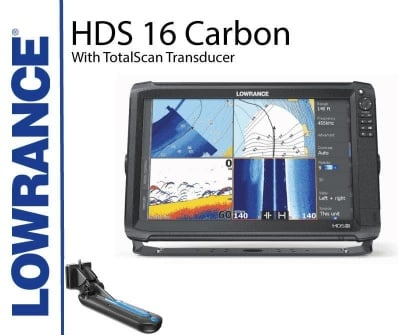 Lowrance HDS 16 Carbon TotalScan Сонар