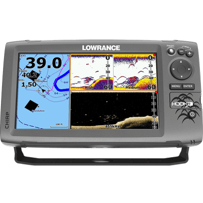 Lowrance Hook 9 Сонар