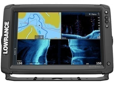 Lowrance Elite-12 Ti-2 No Transducer Сонар GPS без сонда