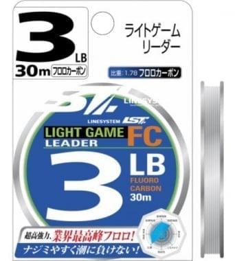Linesystem LIGHT GAME LEADER FC 30m Флуорокарбонов повод