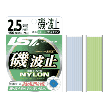Linesystem Nylon ISO HATO-GREEN/BLUE WHITE/ Монофилно влакно