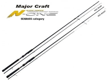 Major Craft N-One Seabass Category NSS-862ML Въдица