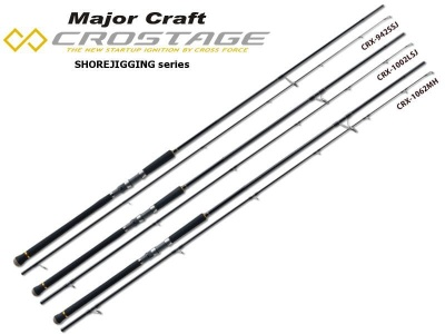 Major Craft New Crostage Shore Jigging Въдица