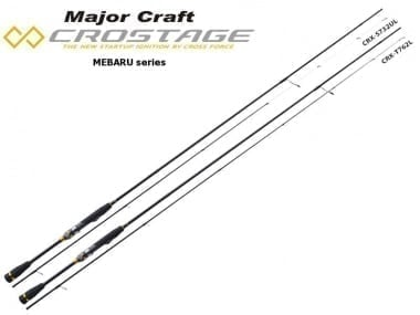 Major Craft New Crostage CRX-T762ML Mebaru Series Въдица