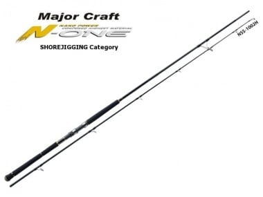 Major Craft N-One Shore Jigging Category Въдица