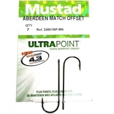 Mustad Aberdeen Match Offset 32601NP-BN Куки