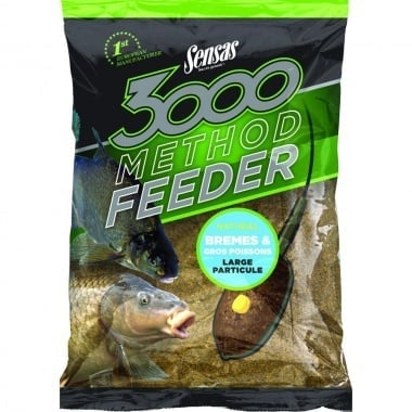 Sensas Method Feeder Bremes Natural Захранка