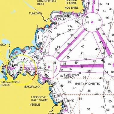 Navionics + Навигационна карта