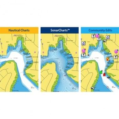 Navionics Update Навигационна карта