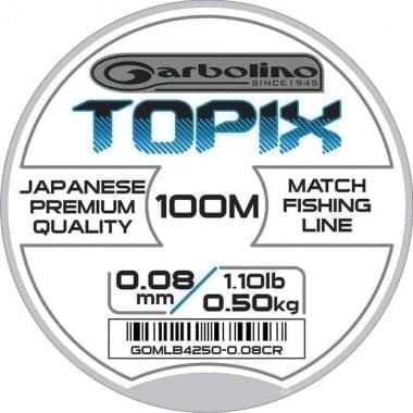 Garbolino TOPIX 100m Монофилно влакно