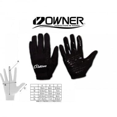 OWNER COLD BLOCK 9897 Неопренови ръкавици за джиг и кастинг