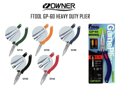 Owner GP-40 GP-60 Клещи за халки