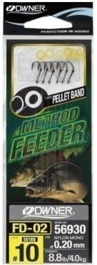 Owner Method Feeder FD 02 Вързани куки