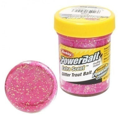 PB - Extra Scent Glitter Trout Bait - Pink Суха захранка