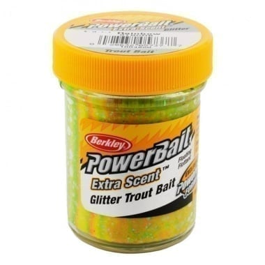 PB - Extra Scent Glitter Trout Bait - Rainbow Суха захранка